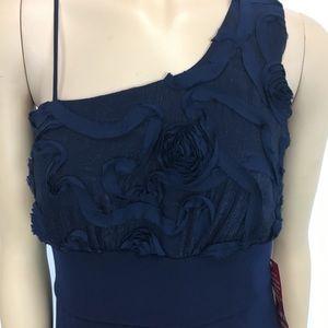 d442dce88d2 Enfocus Studio One Shoulder Blue Dress size 12